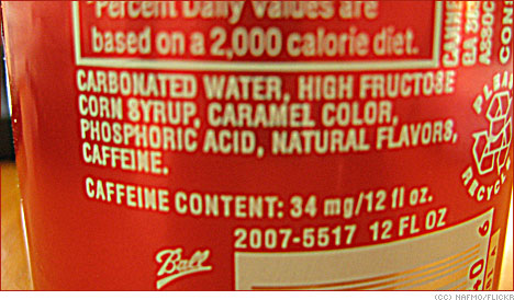 quick facts about High Fructose Corn Syrup